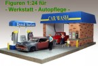 Figures for Carrepair and Carwash 1:24