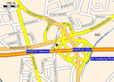 Anfahrtsweg zu Prehm-Modellbahn