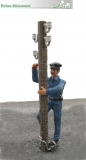500130 - Electrician on mast – set