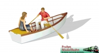 Art. Nr. 550141 Rowboat with loving couple