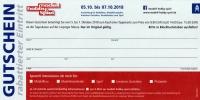 Gutschein bei Bestellung - rabattierter Eintritt - für die modell-hobby-Spiel 2018 in Leipzig