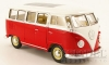 22095 - VW T1 Bus, rot/weiss , 1962