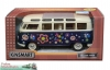 VW-Bus Bully 1:24 - Love and Peace - blau