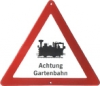Traffic Sign - Attention Gardenrailroad