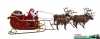 Art.No. 500800 - Santa with reindeer sleigh