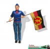 Art.Nr. 550152 - Young Pioneer with Flag