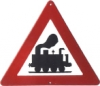 Traffic Sign - Attention Steam Engine VD3