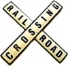 Traffic Sign USA - Railroad Crossing