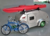 Teardrop Caravan for hitch and tow trailer