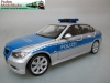 German Police Car - silver-blue