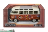 VW-Bus Bully 1:24 - Love and Peace - rot
