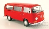 22472 - VW T2 Bus, rot , 1972